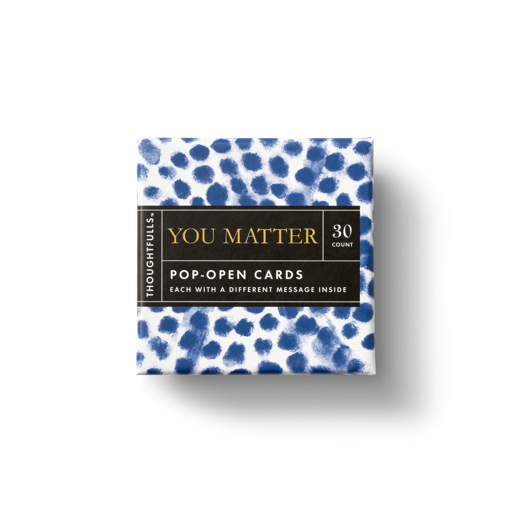 ThoughtFulls You Matter Pop-Open Inspirational Cards