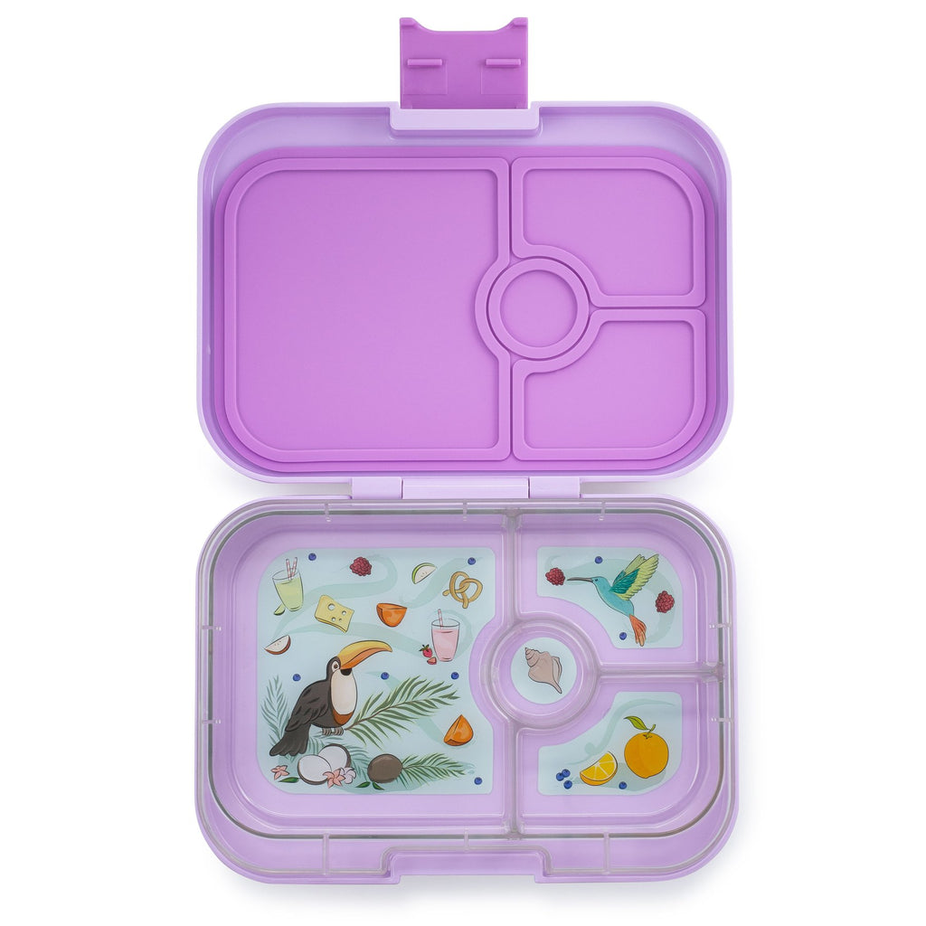 Yumbox 4 Compartment Lunchbox in Lilah Purple