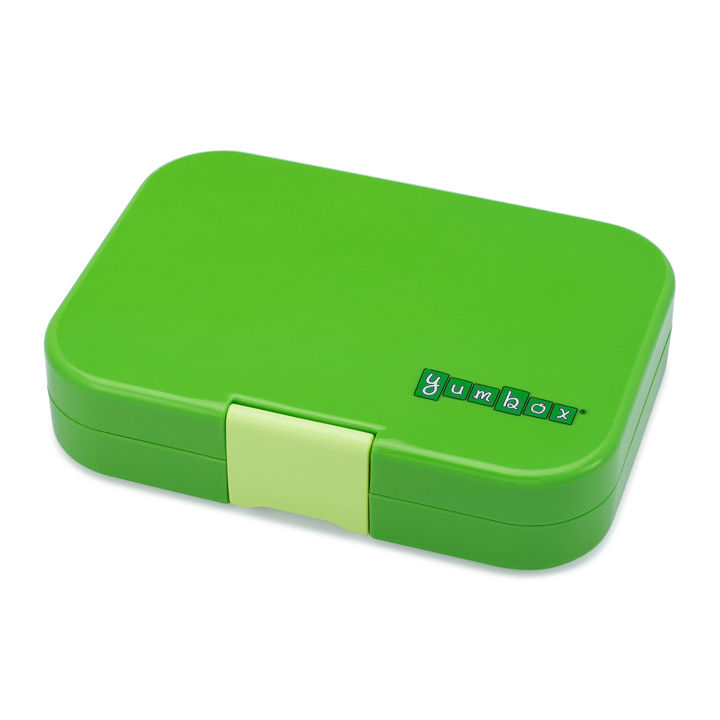yumbox 4 compartment lunchbox in cilantro green