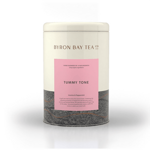 Tummy Tone Leaf Tin 180g Tea Leaf Byron Bay Tea Company