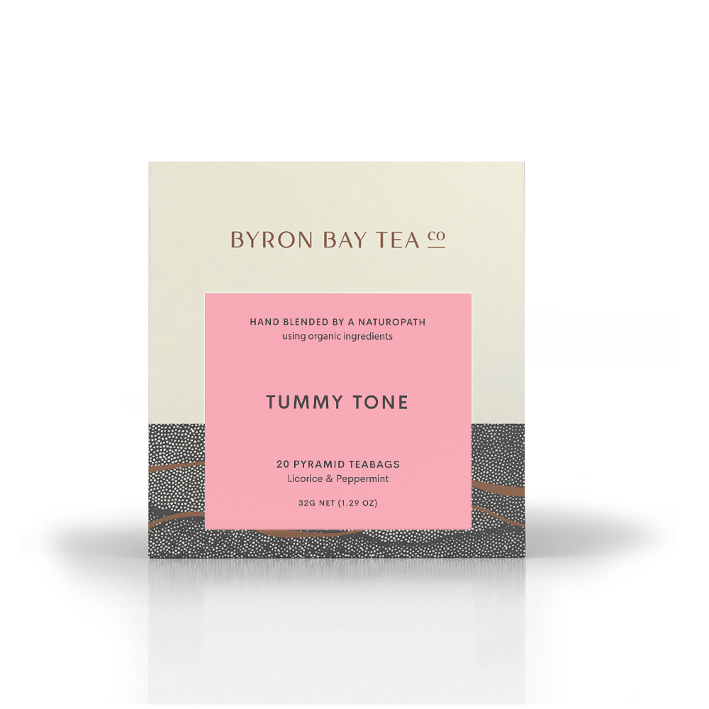 Tummy Tone Teabag Box 20tb Teabag Byron Bay Tea Company