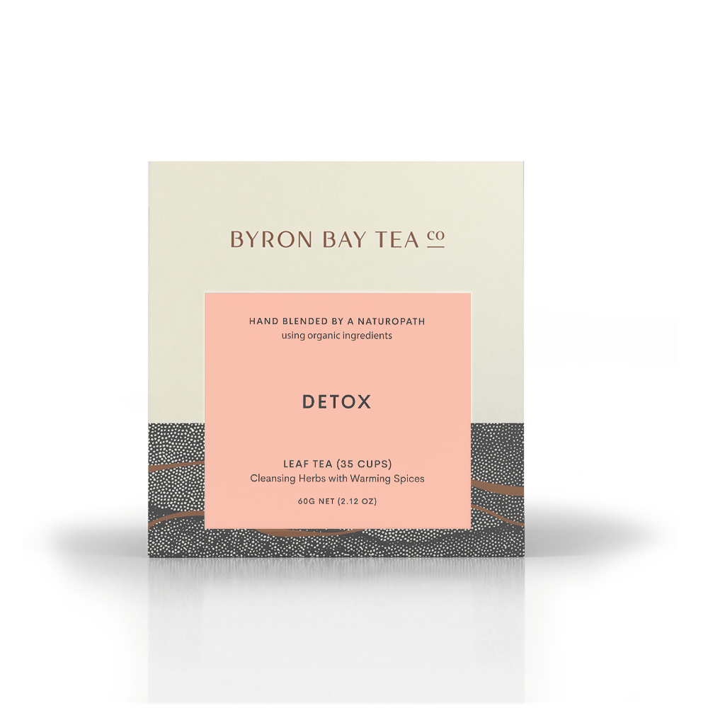 Detox Leaf Box 60g Tea Leaf Byron Bay Tea Company