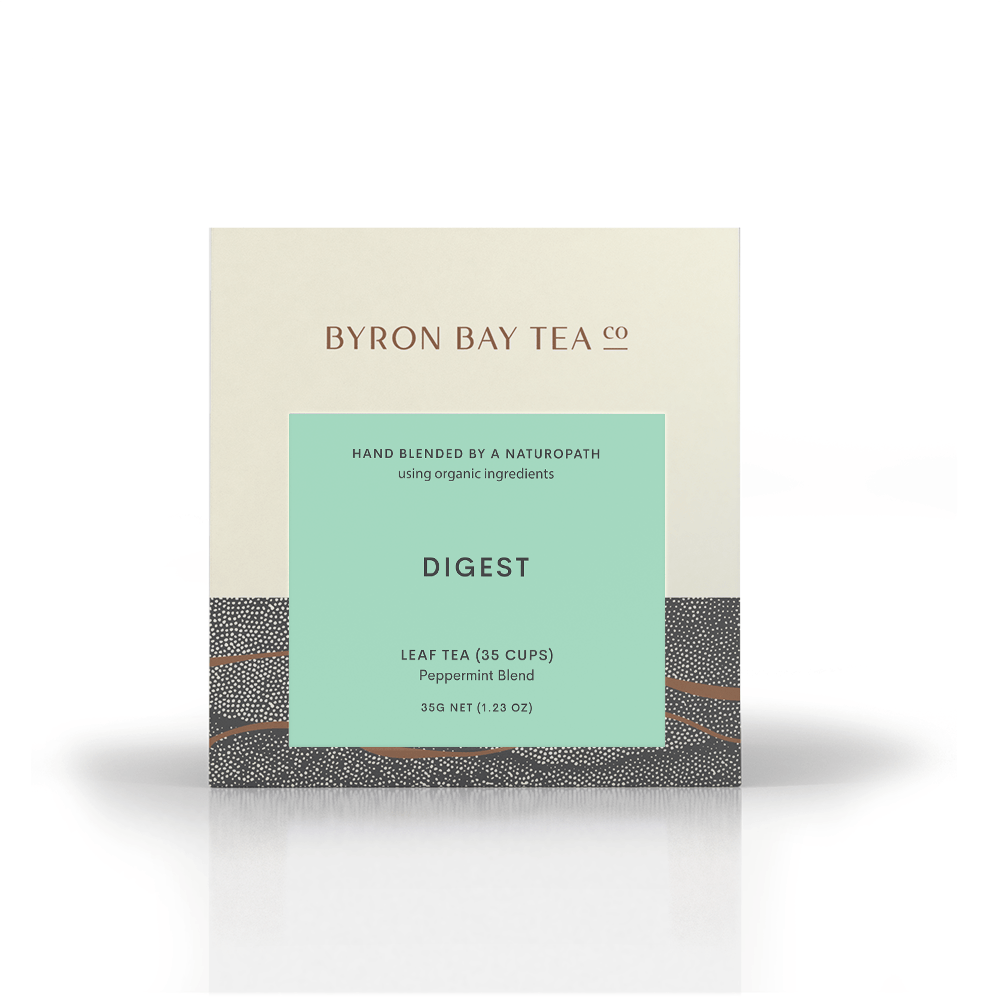 Digest Leaf Box 35g Tea Leaf Byron Bay Tea Company