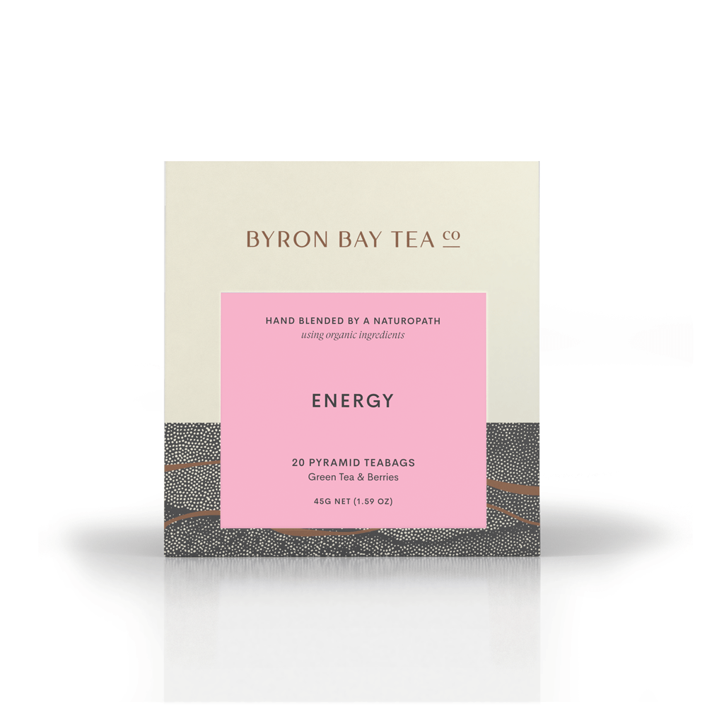 Energy Teabag Box 20tb Teabag Byron Bay Tea Company