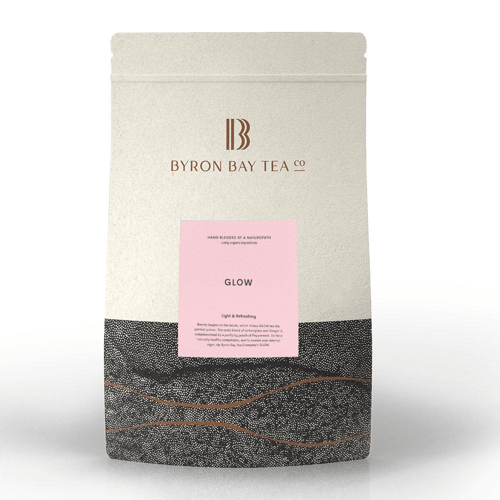 Glow Leaf Refill Bag 300g Tea Leaf Byron Bay Tea Company