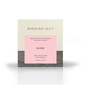 Glow Leaf Box 50g Tea Leaf Byron Bay Tea Company