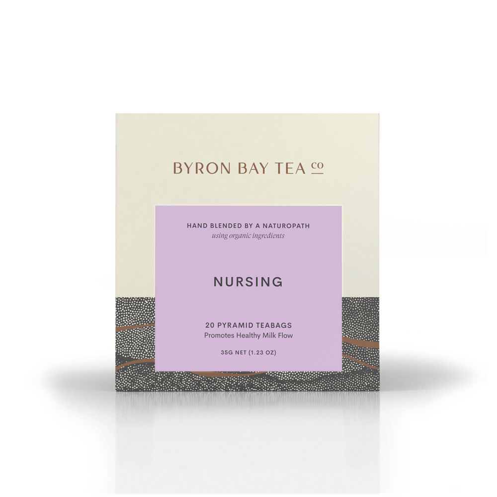 Nursing Teabag Box 20tb Teabag Byron Bay Tea Company
