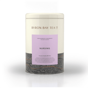 Nursing Leaf Tin 150g Tea Leaf Byron Bay Tea Company