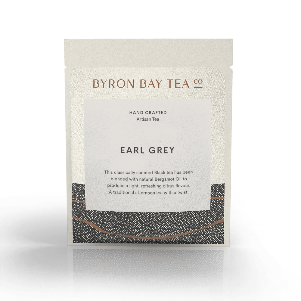 Earl Grey Leaf Sachet Tea Leaf Byron Bay Tea Company