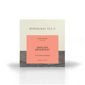 English Breakfast Teabag Box 20tb Teabag Byron Bay Tea Company