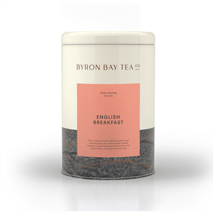 English Breakfast Leaf Tin 240g Tea Leaf Byron Bay Tea Company