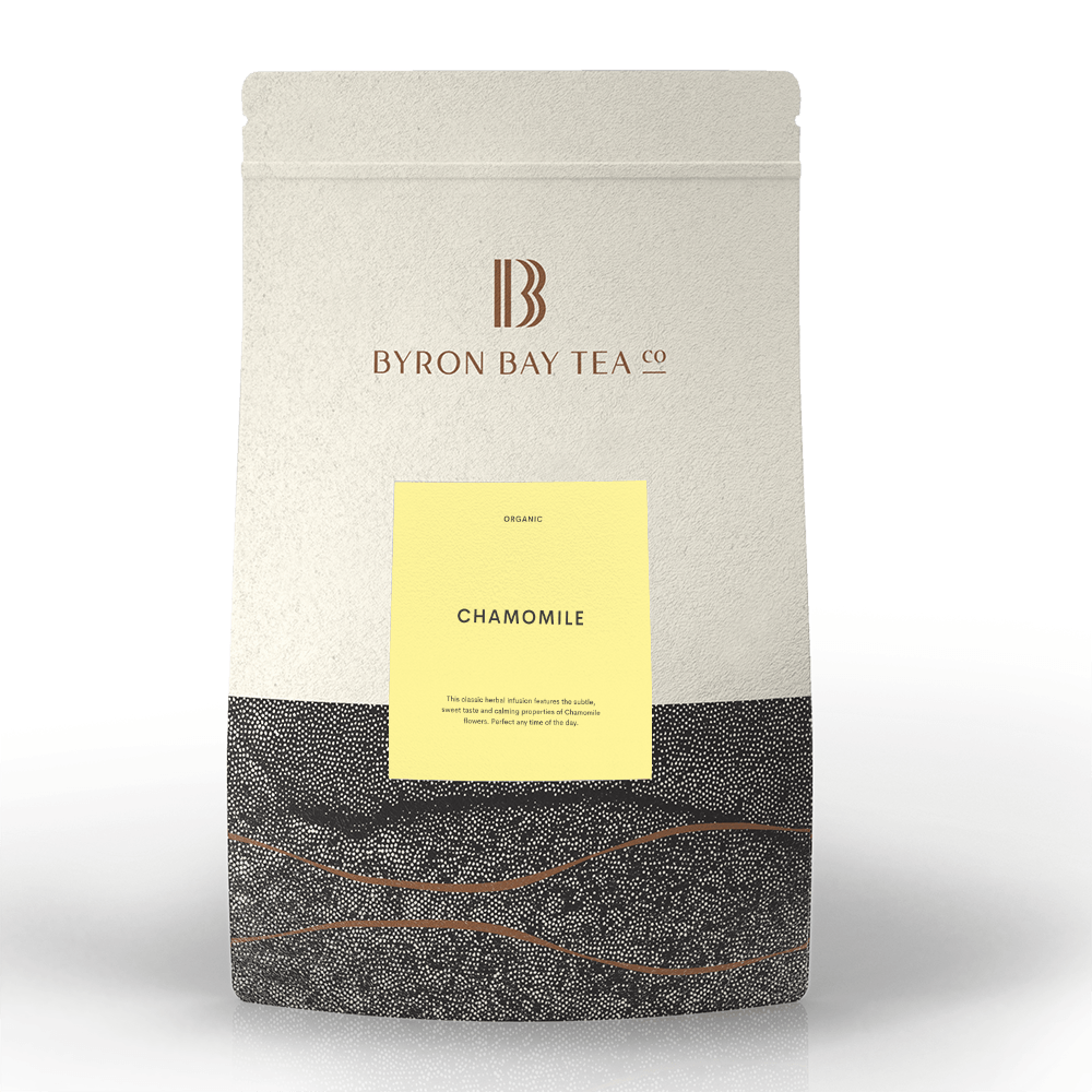Chamomile Leaf Refill Bag 210g Tea Leaf Byron Bay Tea Company