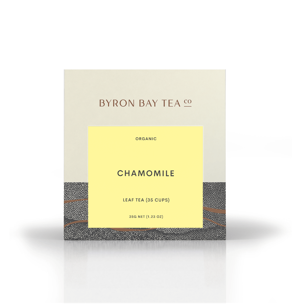 Chamomile Leaf Box 35g Tea Leaf Byron Bay Tea Company