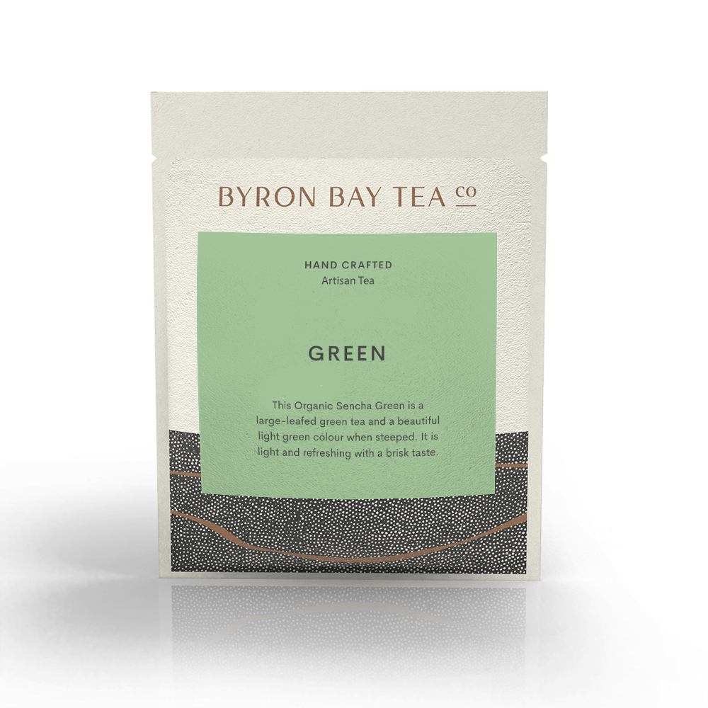 Green Leaf Sachet Tea Leaf Byron Bay Tea Company