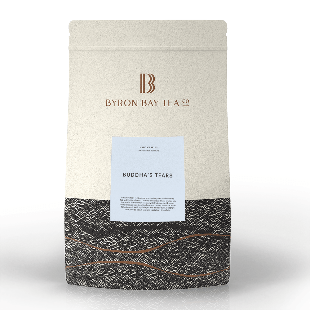Buddha Tears Leaf Refill Bag 600g Tea Leaf Byron Bay Tea Company