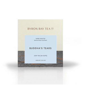 Buddha Tears Leaf Box 100g Tea Leaf Byron Bay Tea Company