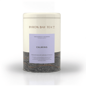 Calming Leaf Tin 150g Tea Leaf Byron Bay Tea Company