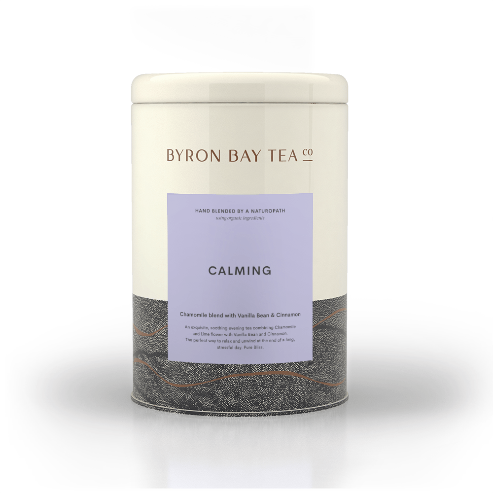 Calming Teabag Tin 50tb Teabag Byron Bay Tea Company