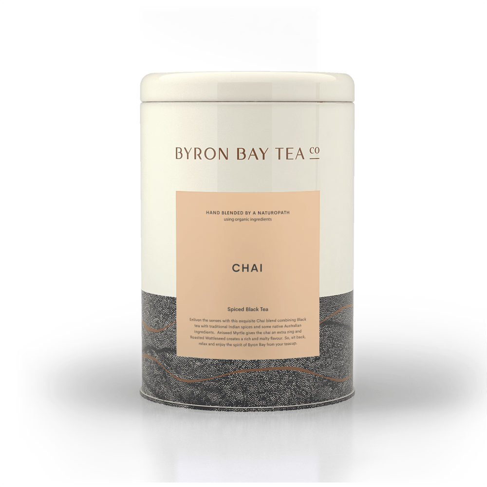 Chai Leaf Tin 300g Tea Leaf Byron Bay Tea Company