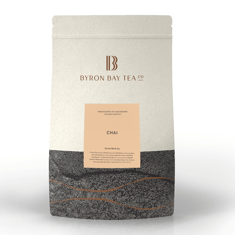 Chai Leaf Refill Bag 600g Tea Leaf Byron Bay Tea Company