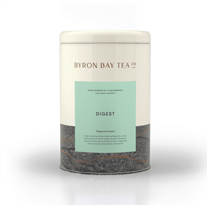 Digest Leaf Tin 105g Tea Leaf Byron Bay Tea Company