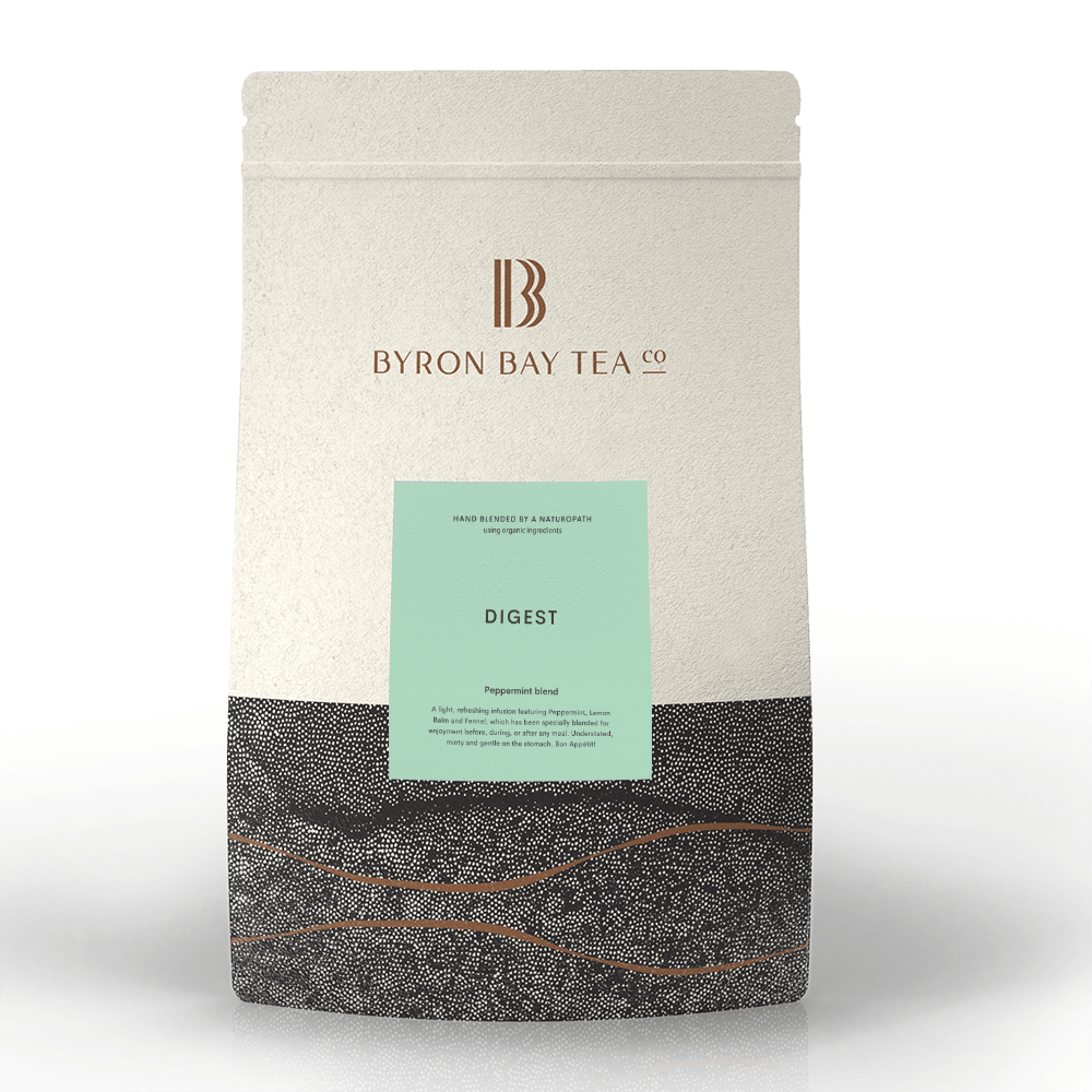 Digest Teabag Refill Bag 100tb Teabag Byron Bay Tea Company
