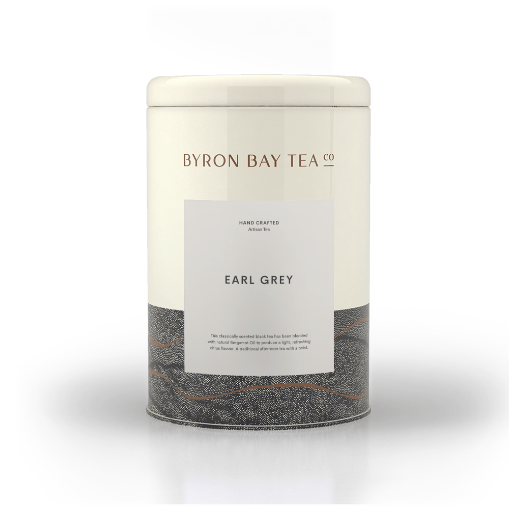 Earl Grey Leaf Tin 240g Tea Leaf Byron Bay Tea Company