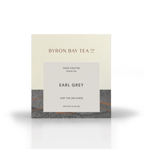 Earl Grey Leaf Box 80g Tea Leaf Byron Bay Tea Company
