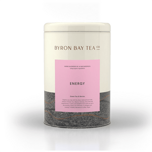 Energy Leaf Tin 210g Tea Leaf Byron Bay Tea Company