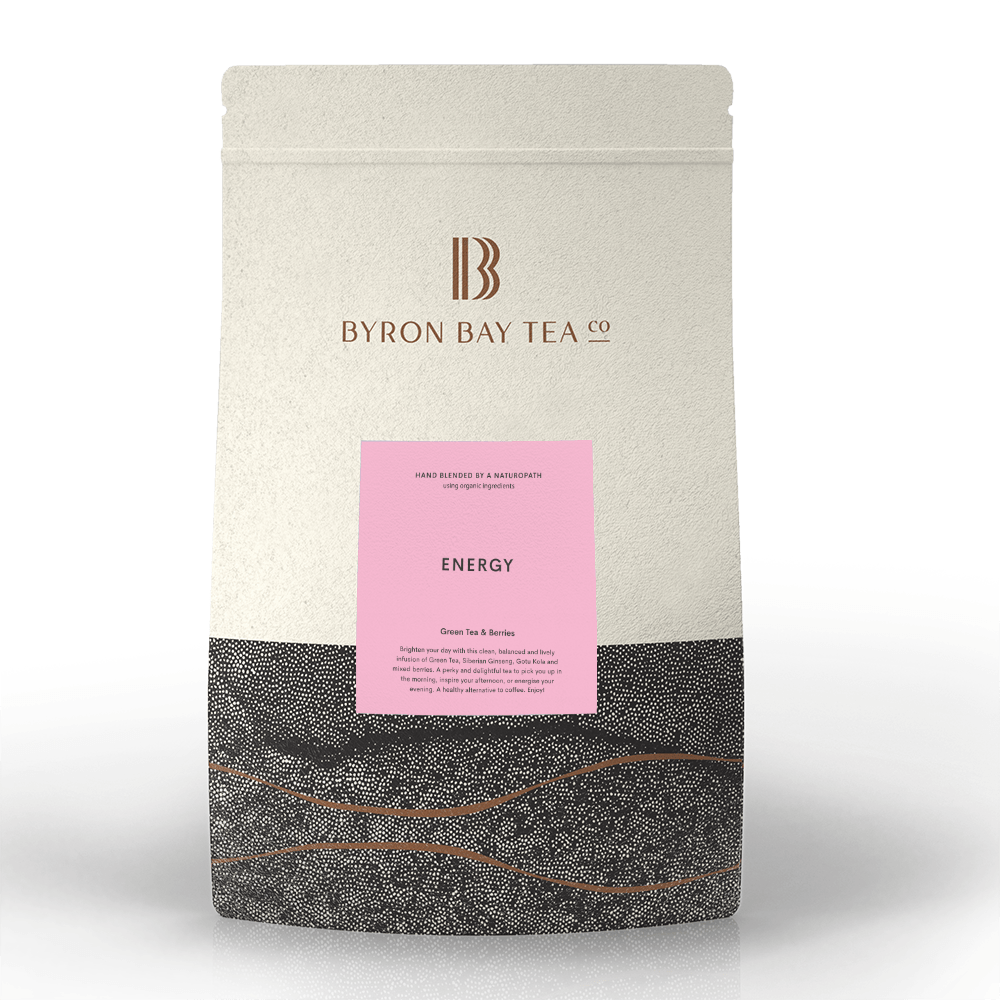 Energy Leaf Refill Bag 420g Tea Leaf Byron Bay Tea Company