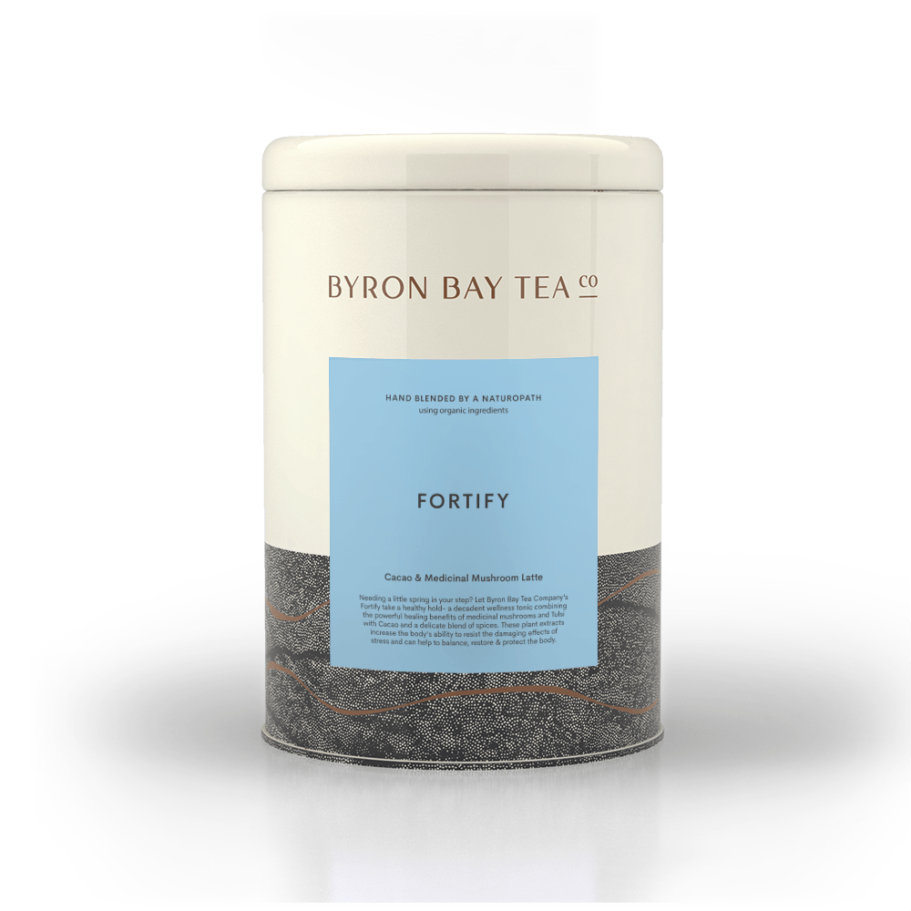 Fortify Leaf Tin 300g Tea Leaf Byron Bay Tea Company