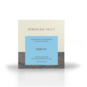 Fortify Leaf Box 100g Tea Leaf Byron Bay Tea Company