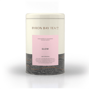 Glow Leaf Tin 150g Tea Leaf Byron Bay Tea Company
