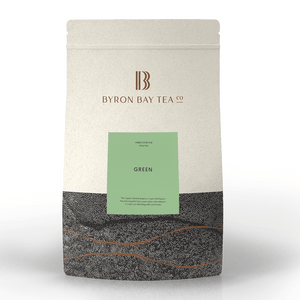 Green Leaf Refill Bag 420g Tea Leaf Byron Bay Tea Company