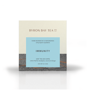 Immunity Leaf Box 60g Tea Leaf Byron Bay Tea Company