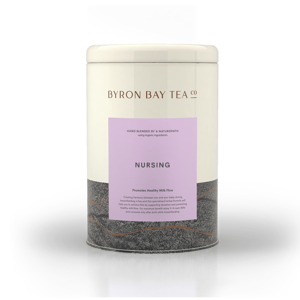 Nursing Teabag Tin 50tb Teabag Byron Bay Tea Company