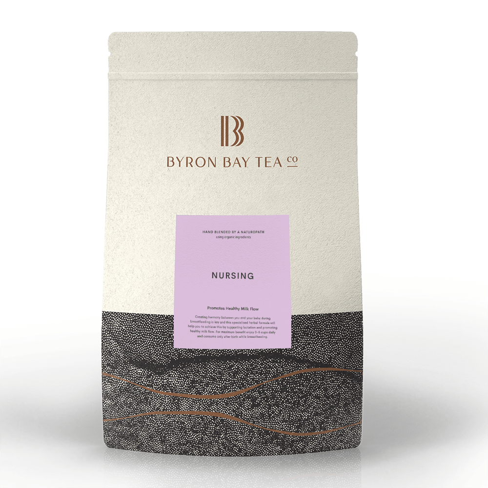 Nursing Teabag Refill Bag 100tb Teabag Byron Bay Tea Company
