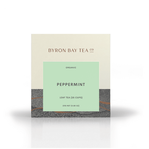 Peppermint Leaf Box 25g Tea Leaf Byron Bay Tea Company
