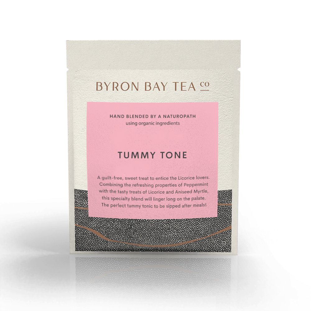 Tummy Tone Leaf Sachet Tea Leaf Byron Bay Tea Company