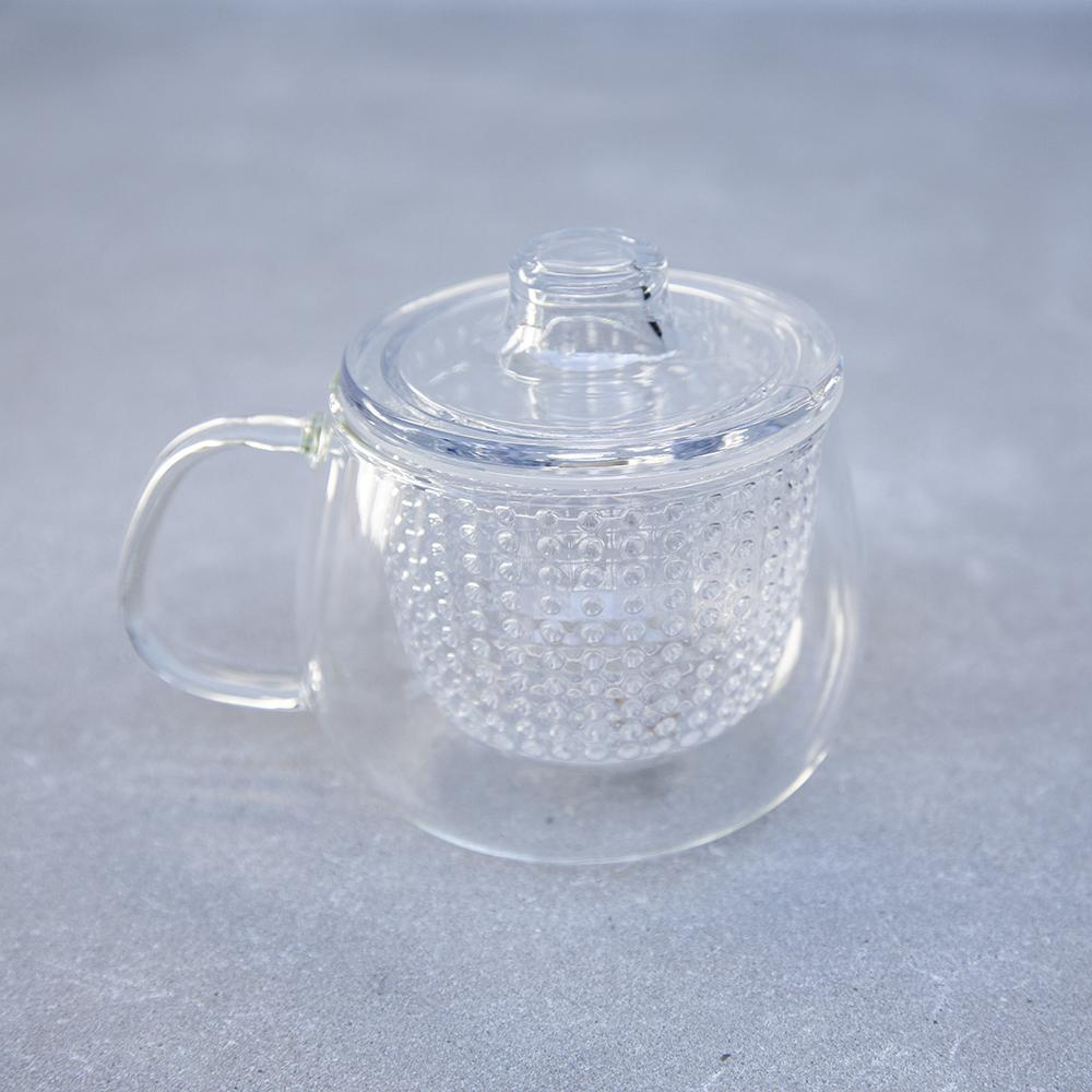 Teaware Unimug Clear 350ml Teaware Byron Bay Tea Company