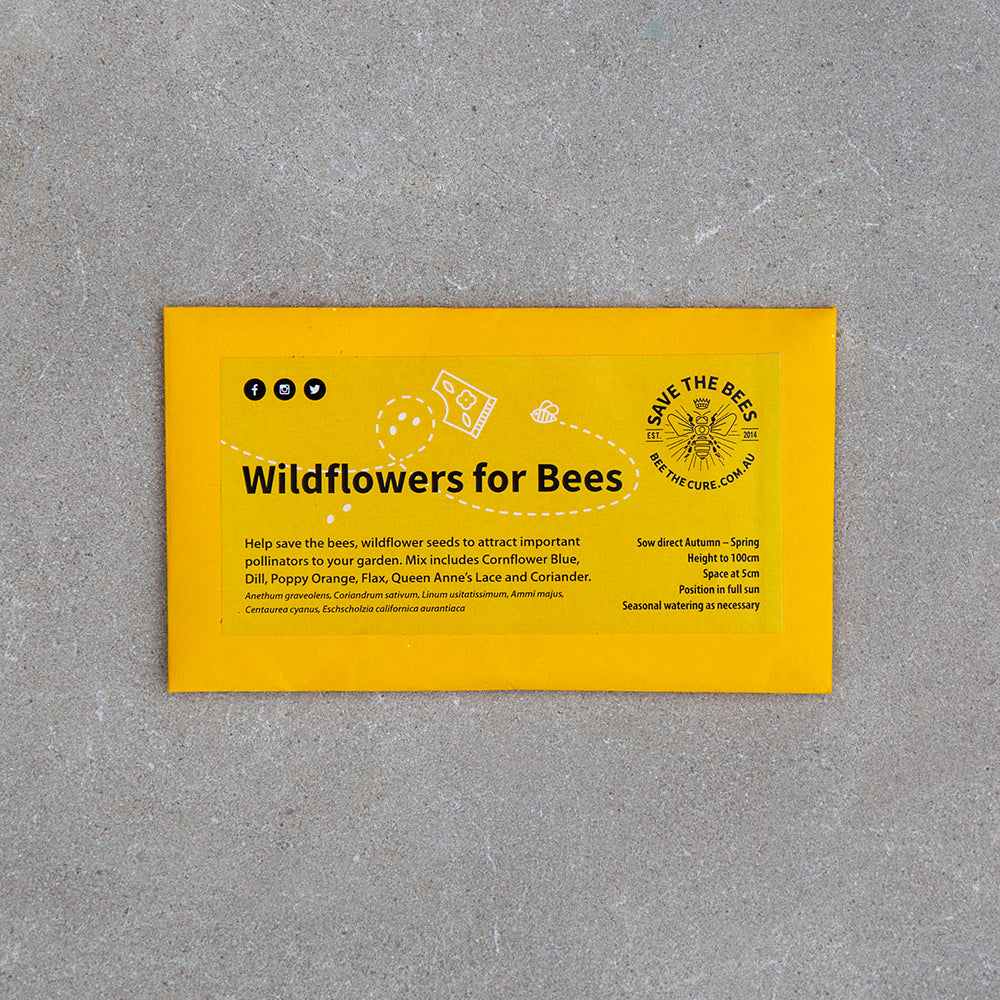 Wildflower Seeds Save the Bees