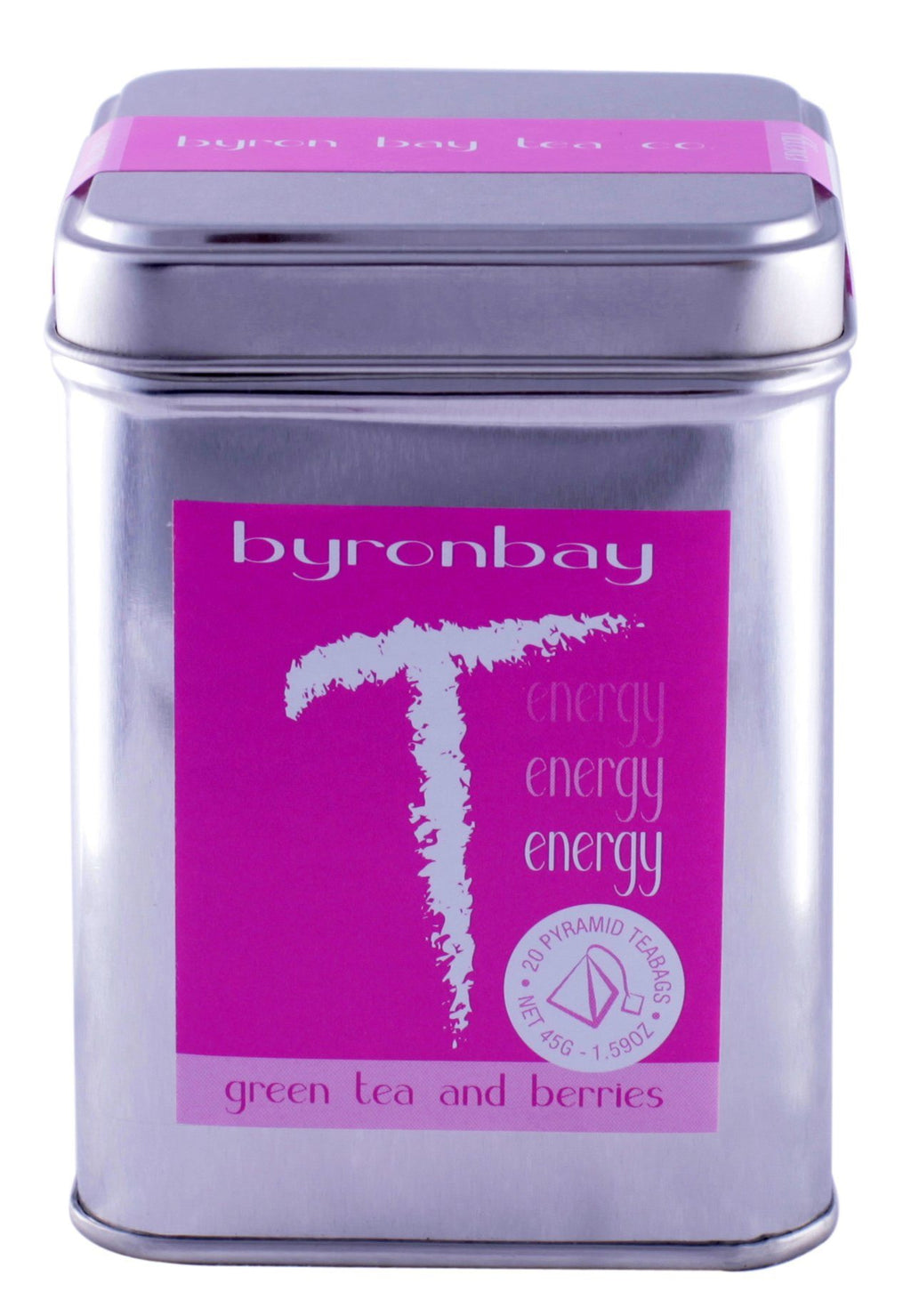 Energy TEABAG Tin Small Retail Other Old Stock Default Title