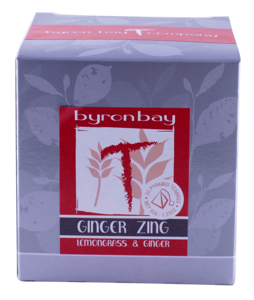 Ginger Zing TEABAG Box Retail Other Old Stock Default Title