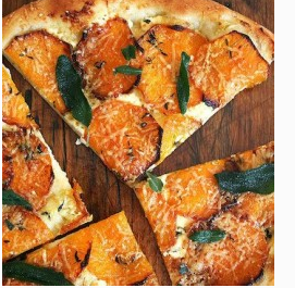 Pumpkin or Butternut Squash Wood Fired Pizza
