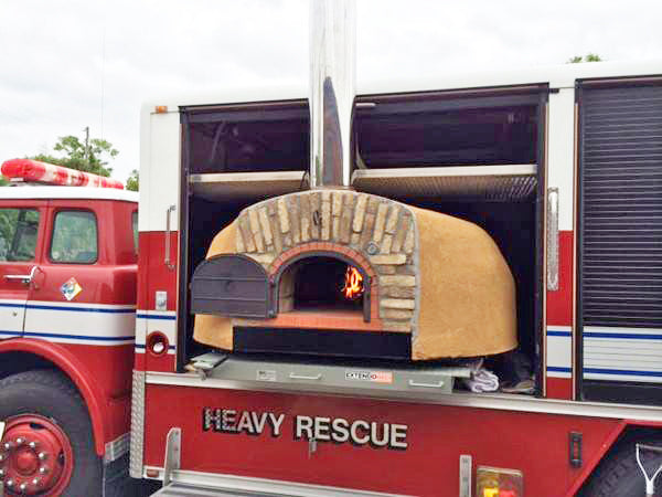 Wood Pizza Oven Food Truck