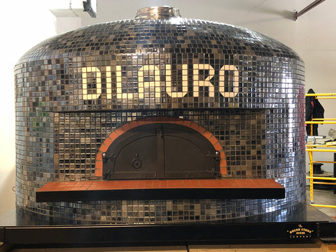 Tiled Wood Fired Pizza Oven