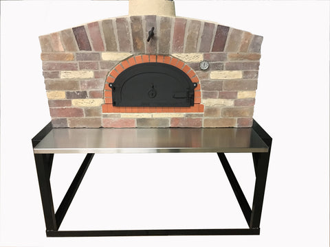 Wood Fired Brick Oven On Stand