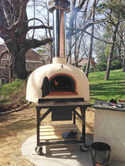 Wood-Fired Oven on Mobile Stand