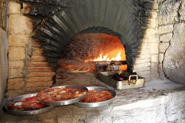 200 year old wood fired brick oven