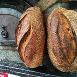 Artisan Bread Baked in a Wood-Fired Oven
